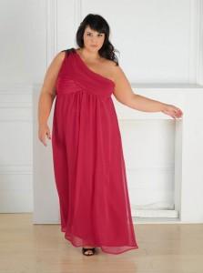 Vestidos largos de tallas más grandes
